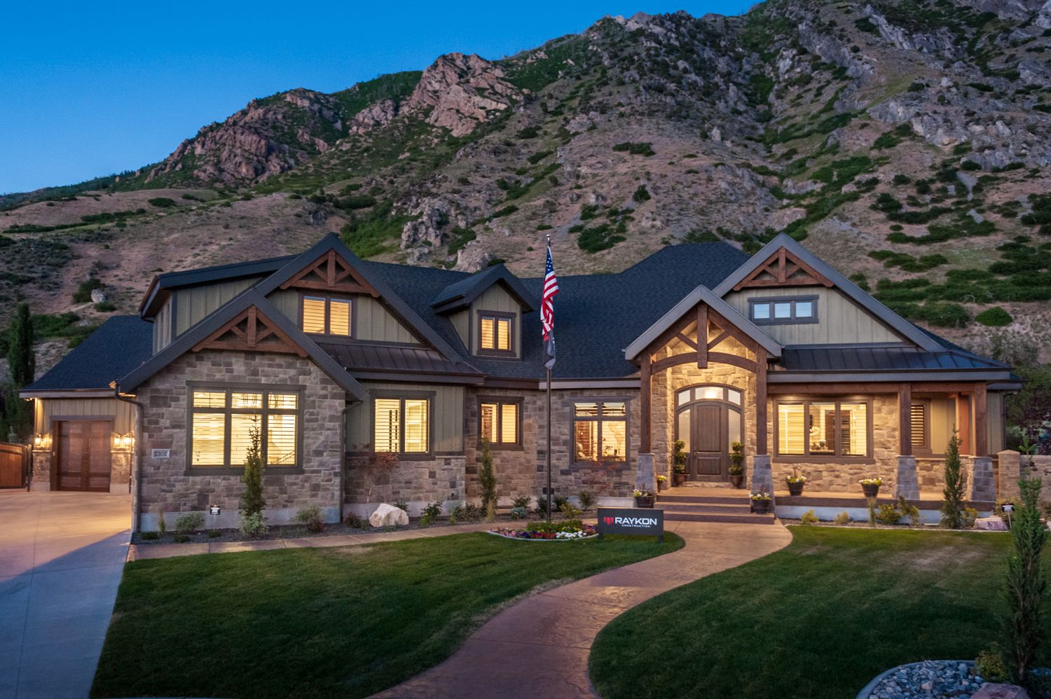 Mountain Majesty by Raykon Construction